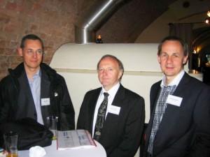Prof. Schulz, Prof. Blobel, Prof(FH) Mense