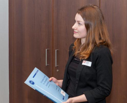 Jahrestagung 2018 Student Award Monika Moser (FH OÖ Hagenberg)