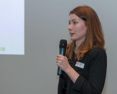 Jahrestagung 2018 Student Award Preisträger Monika Moser (FH OÖ Hagenberg)