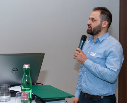 Jahrestagung 2018 Student Award Preisträger Mahmoud Alakraa (FH Technikum Wien)