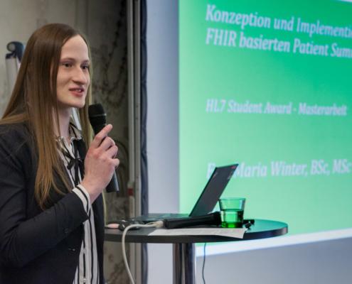 Student Award Preisträgerin Eva-Maria Winter (FH Joanneum)