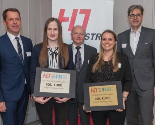 Student Award Preisträgerinen Eva-Maria Winter und Cornelia Lahnsteiner (FH Joanneum)