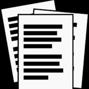 Dokumente symbolische Darstellung