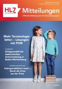 HL7 Mitteilungen Cover 2020-12